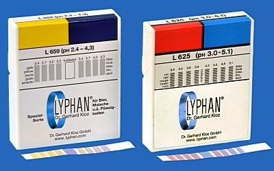 Lyphan Streifen Spezialpapiere