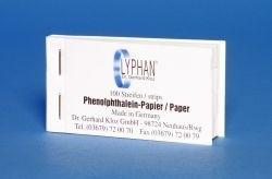 HPHE LYPHAN Phenolphthalein Papier