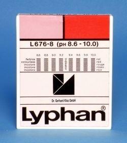 L676-8 - LYPHAN Streifen pH 8,6 bis 10,0