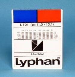 L701 LYPHAN Streifen pH 11,0 bis 13,1